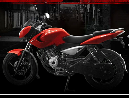 Bajaj Pulsar 135 Left View