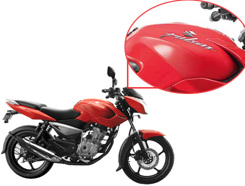 Bajaj Pulsar 135 Oil Tank View