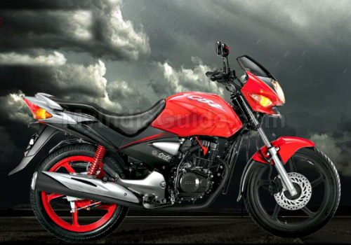 Hero Honda CBZ Xtreme Kick Start Different Colour View 2