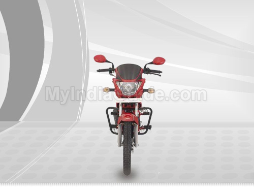 Hero Honda Glamour Front View Picture