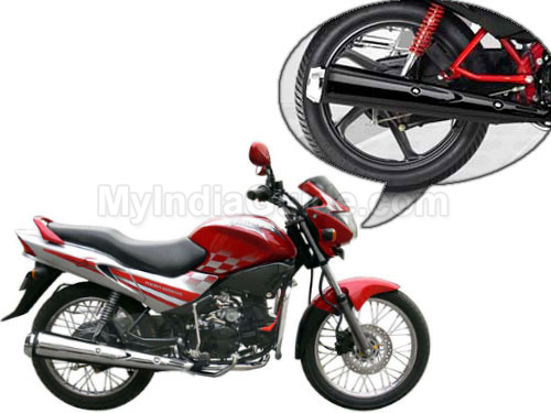 Hero Honda Glamour Silencer View