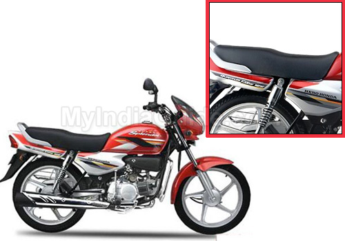 Hero Honda Splendor Super Seet View