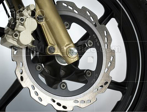 TVS Apache RTR 180 Disk Brake View