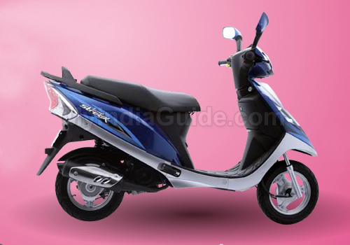 TVS Scooty Streak Right View