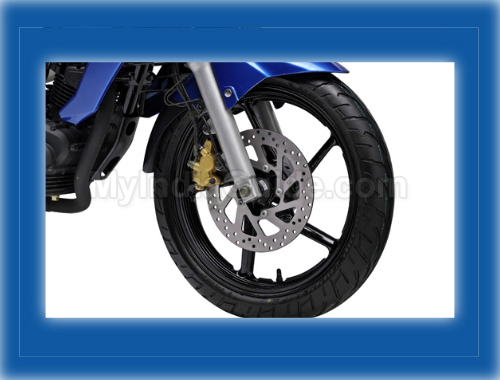 Yamaha Fazer  Wheels And Tyre View