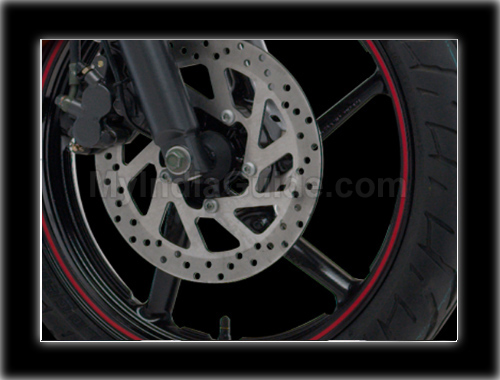 Yamaha FZS Disk Brake View