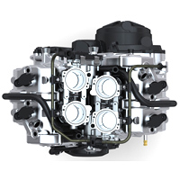 Aprilia Rsv4 engine view Picture