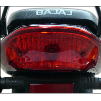 Bajaj Discover 135cc DTSi Back Light View