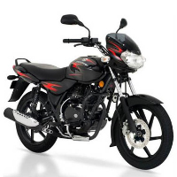 Bajaj Discover 135cc DTSi Front Cross Side View
