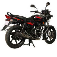 Bajaj Discover 135cc DTSi Rear Cross Side View