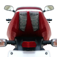 Bajaj New Pulsar 150cc DTSi Back Light View