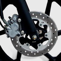Bajaj New Pulsar 150cc DTSi Disk Brake View