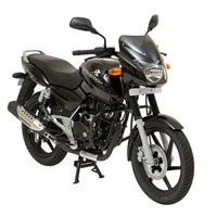 Bajaj New Pulsar 150cc DTSi Front Cross Side View