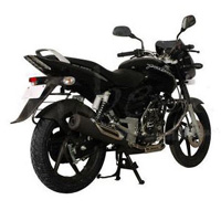 Bajaj New Pulsar 150cc DTSi Rear Cross Side View