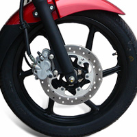 Bajaj New Pulsar 150cc DTSi Wheels And Tyre View