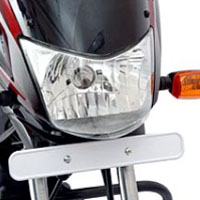 Bajaj Platina 125 Head Light View