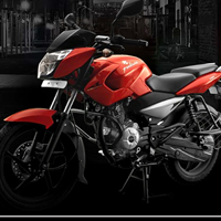 Bajaj Pulsar 135 Front Cross Side View