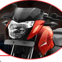 Bajaj Pulsar 135 Head Light View