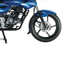 Bajaj XCD Exceed 125cc DTSSi Disk Brake And Wheels View