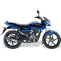 Bajaj XCD Exceed 125cc DTSSi Left View