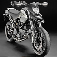 Ducati Hypermotard 1100 Front Cross Side View