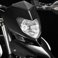 Ducati Hypermotard 1100 Head Light View