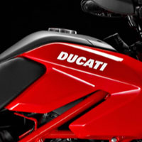 Ducati Hypermotard 1100 Oil Tank View