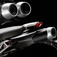 Ducati Hypermotard 1100 Silencer View