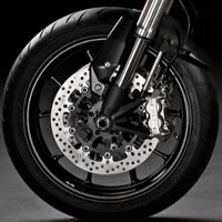Ducati Hypermotard 1100 Wheels And Tyre View