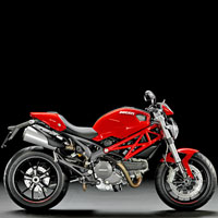 Ducati Monster 1100S Different Colour View 1