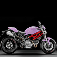 Ducati Monster 1100S Different Colour View 11