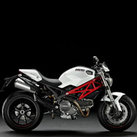 Ducati Monster 1100S Different Colour View 3