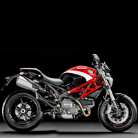 Ducati Monster 1100S Different Colour View 4