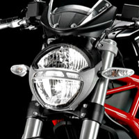 Ducati Monster 1100S Head Light View