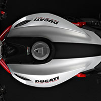 Ducati Monster 1100S Oil Tank View