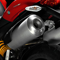 Ducati Monster 1100S Silencer View