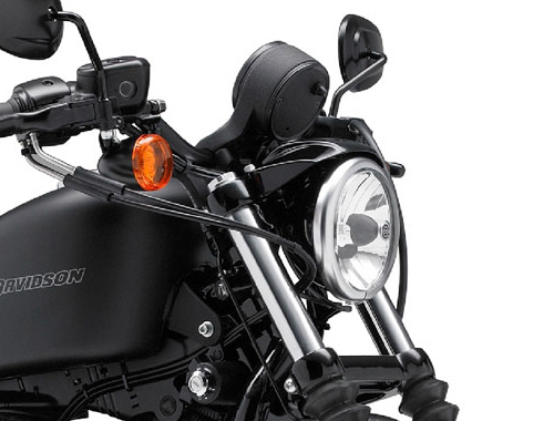 Harley Davidson Iron 883 Head Light View
