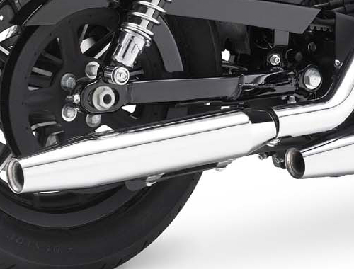 Harley Davidson Iron 883 Silencer View