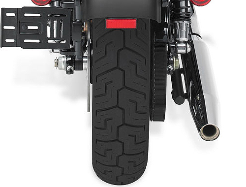 Harley Davidson Iron 883 Wheel Base View