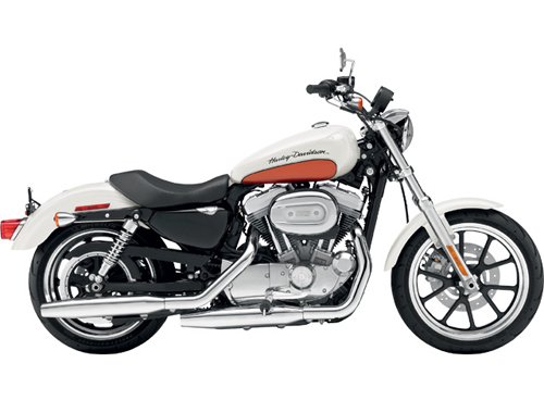 Harley Davidson SuperLow XL883L Right View