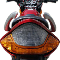 Hero Honda CBZ Xtreme Kick Start Back Light View