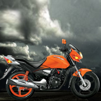 Hero Honda CBZ Xtreme Kick Start Different Colour View 1