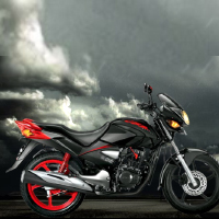 Hero Honda CBZ Xtreme Kick Start Different Colour View 3