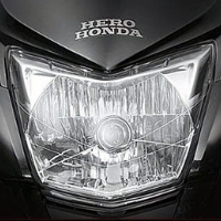 Hero Honda CBZ Xtreme Kick Start Head Light View