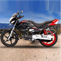 Hero Honda CBZ Xtreme Kick Start Left View
