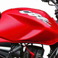 Hero Honda CBZ Xtreme Kick Start Oil Tank View
