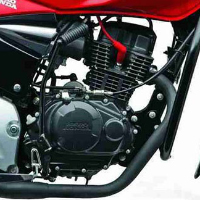 Hero Honda CBZ Xtreme Self Start Engine View