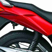 Hero Honda CBZ Xtreme Self Start Shocker View
