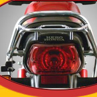 Hero Honda Cddawn Back Light View