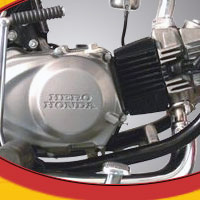 Hero Honda Cddawn Engine View